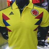 Camisa Oficial Polo Seleccion Colombia 2018