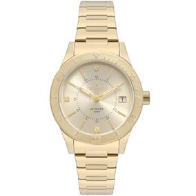 1dd4c50caef Relogio Malotty 33 Dourado - Relógios De Pulso no Mercado Livre Brasil