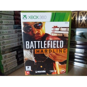 Jogo De Tiro Battlefield Hardline Xbox 360 Original Mídia