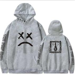 Blusa Moletom Lil Peep Forca Cry Baby Lil Pump Uzi Xan Trap 4c565d661462d