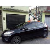 Suporte Bike Ventosa Tripla Para Carro 180 Kg + Fita Catraca
