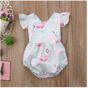 Body Macacão Unicórnio Flamingo Melancia Caveira Infantil