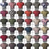 Kit C/ 5 Camiseta Camisa Longline Gola Polo Esporte Florido