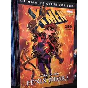 Quadrinhos Saga Da Fênix X Men Marvel Comics Hq