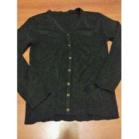 Sweater Saquito Verde Oscuro Vintage Cardigan Para Mujer efe839d7d7a8