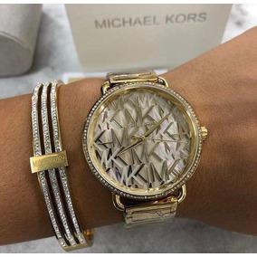 Relogio Michael Kors Rose Gold Diamantes Mk5459 Novo Caixa ... d777e75464