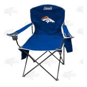 973192b24c Silla Plegable Logo Denver Broncos Nfl Coleman Azul Xtreme C