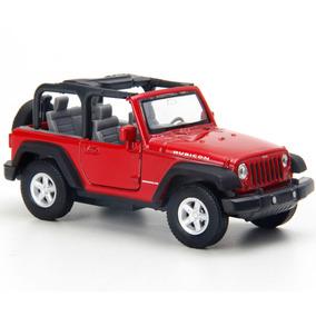 Miniatura - 1:32 - Jeep Wrangler Rubicon Conversível - Verme