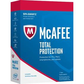 Antivírus Mcafee Total Protection 2019 - Ilimitado - 01 Ano