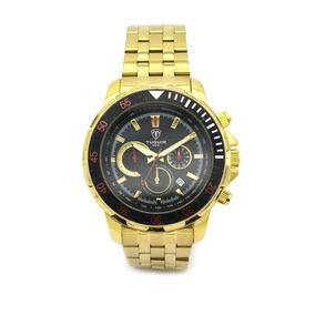 e808d14fa1d Relógio Tuguir Analógico 5024 Dourado - Relógios no Mercado Livre Brasil