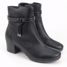 9dff853e7 Bota Feminina Cano Curto Azaleia - Botas Ankle Boots para Feminino ...