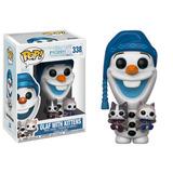 Figura Funko Pop Frozen Olaf With Kittens