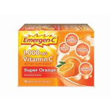 Emergen-c Super Orange, 1000 Mg De Vitamina C, 0.32 Onzas, 3