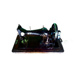 Máquina De Costura Antiga Manual À Manivela