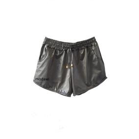 Kit Com 5 Shorts Feminina Boxe Metalizado Cirrê P M G Gg