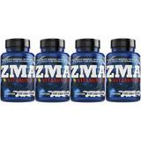Zma Magnésio Zinco Quelato Vitamina B6 4x 120 Cápsulas 1/dia