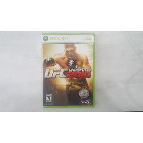 Ufc Undisputed 2010 - Xbox 360 - Original - Usado
