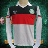 25fcbcd888 Camisa Retro Goleiro Do Palmeiras Leão - Futebol no Mercado Livre Brasil