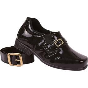 2ea3e4357 Sapato Social Infantil Cinto - Sapatos Sociais Meninos em Birigüi no ...