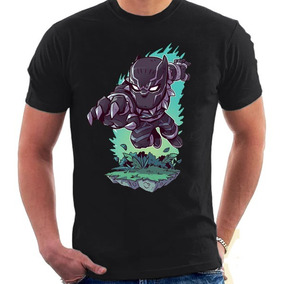 2a64b48717 Camisa Camiseta Pantera Negra Blusa Marvel Wakanda Forever