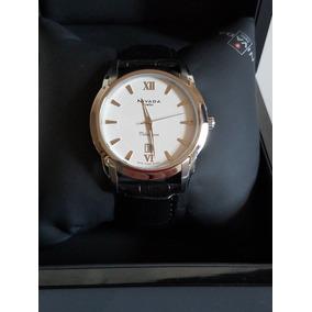 Reloj Mido Millionaire Caballero Extensible De Piel Negro