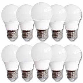 Kit 10 Lampadas Led 3w Bivolt Bolinha Bulbo 2050b Inmetro