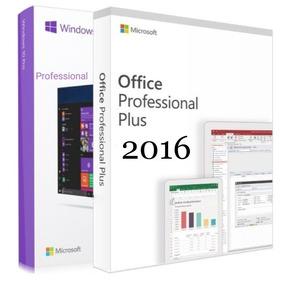 Windows 10 Pro + Office 2016 Licença 25 Dígitos