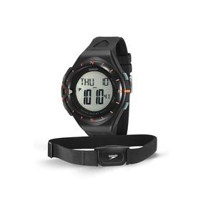 Relógio Monitor Cardíaco, Speedo,58010g0evnp1, Preto-laranja