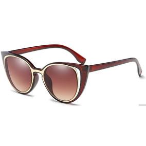 ee43741d9f619 Oculos Prada Gatinho (cat Eye) Marrom Colecao Nova De Sol - Óculos ...