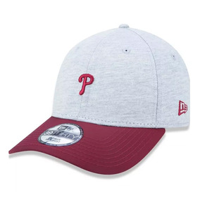 Boné New Era Aba Curva Philadelphia Phillies Mini Logo Cinza 07c00a12a5d