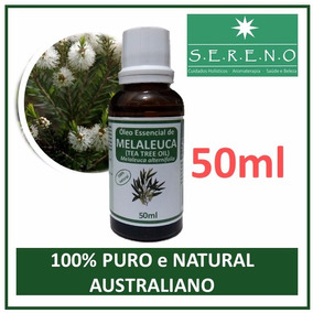 311d24ece Óleo Essencial Melaleuca tea Tree (50ml) 100% Puro