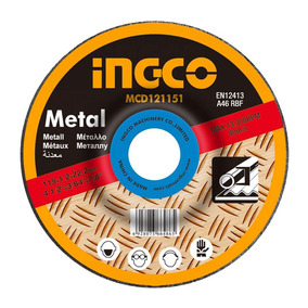 Disco Desbaste De Metal 9
