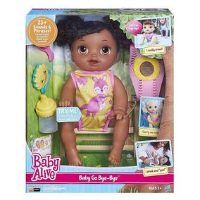 Boneca Baby Alive Baby Go Bye Bye Africana.pronta Entrega