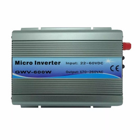 Inversor Grid Tie 600w Solar 220vac 22-60vdc