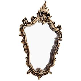 Espelho Grande Com Moldura De Resina - Frete Grátis