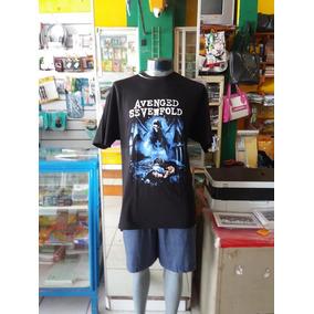 Playera Avenged Sevenfold #xg5 Extra Grande Unisex