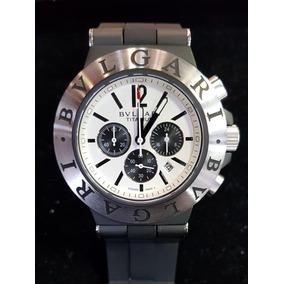 6596d4e1d0f Relogio Bvlgari Titanium Caixa 44 De Luxo Masculino - Relógios De ...