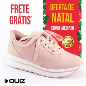 Tênis Feminino Quiz 68-64224 Flatform Sapato Oxford Quiz