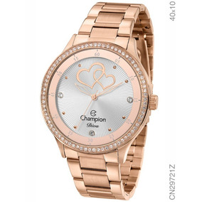 Relógio Champion Diva Rosé Cn29721z