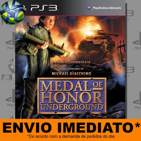 Medal Of Honor Underground - Psn Digital Pronta Entrega Ps3