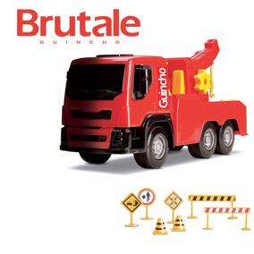 Caminhão Brutale Guincho Brinquedos Menino Caminhãozinho