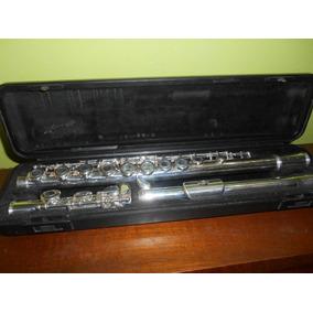Flauta Transversa Estudiante Yamaha Yfl-211, Sin Zapatillas.