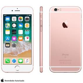Iphone 6s Rosa Dourado Tela 4,7 4g 32 Gb 12 Mp Mn122bra