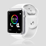dbdb0a5af9f Smartwatch Original A1 Branco C chip Bluetooth Ios android