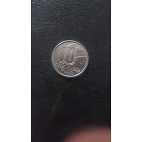 Moeda 10 Centavos 1989