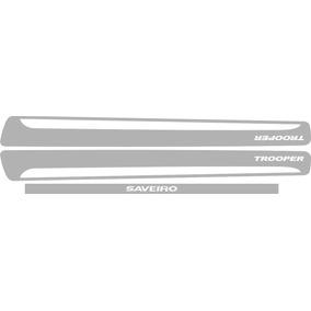 Adesivos Faixas Laterais E Traseiro Nova Saveiro Trooper G6