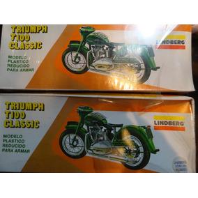 Moto Modelo Triumph Escala Original Lindberg