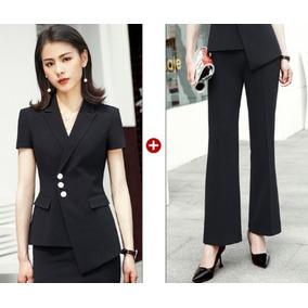 705bf50557703 Pantalones Palazzos Elegantes De Mujer - Trajes Negro en Mercado ...