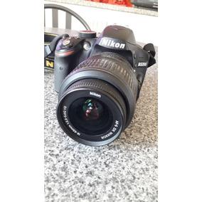 Camara Profesional Nikon D3200 + Bolso