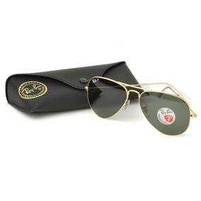 Oculos De Sol Ray Ban Aviador Lente Verde Armaçao Preta - Óculos De ... 13ff2d587d